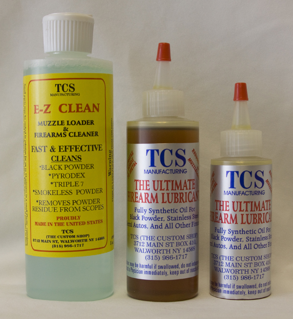 TCS EZ Clean and TCS Oil